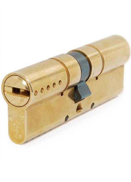Дверные цилиндры MUL-T-LOCK INTERACTIVE + 82 мм (27x55) ключ-ключ латунь